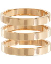 Repossi | Metallic Berbere Triple-band Cage Ring | Lyst