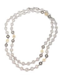 Coomi | Natural Opera Crystal & Diamond Long Necklace | Lyst
