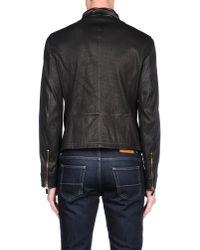 Giorgio Armani - Brown Jacket for Men - Lyst