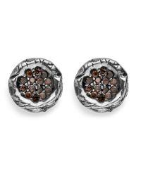 Platadepalo | Multicolor Classic Small Zircon Earring | Lyst