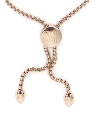 Monica Vinader   Pink Fiji 18kt Rose Gold-plated Bracelet   Lyst
