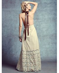 Free People Natural Reed Dress