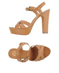 Ash Brown Sandals
