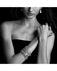 David Yurman - Metallic Renaissance Drop Earrings With Diamonds - Lyst