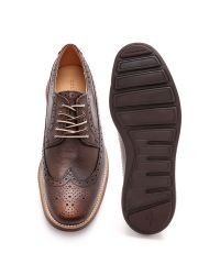 Cole Haan Brown Adams Leather Split Oxford Lace-up for men