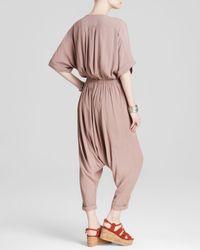 Free People Pink Jumpsuit - Washed Crepe Dune Onesie