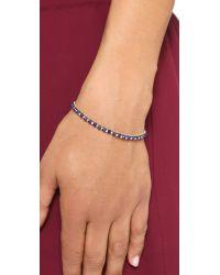 Astley Clarke - Blue Lapis Evil Eye Biography Bracelet - Turqoise - Lyst