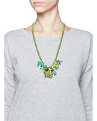 Venessa Arizaga | Green 'kami-kaze' Necklace | Lyst