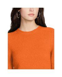 Polo Ralph Lauren - Orange Slim-fit Cabled Cashmere - Lyst