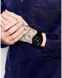 Nixon Black Time Teller Watch A119 for men