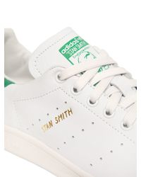 Adidas Originals - White Stan Smith Leather Sneakers - Lyst