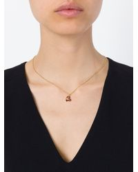Vivienne Westwood Purple Orb Heart Pendant Necklace