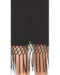Endless Rose Black Lace High Neck Mini Dress