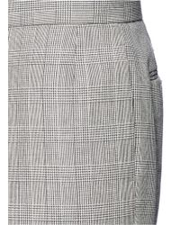 Thom Browne Gray 'fun Mix' Patchwork Houndstooth Pants for men