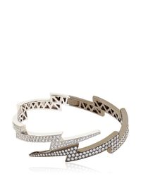 Anita Ko | Black Over Spike Bracelet | Lyst