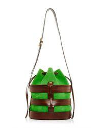Trademark | Green Leather Sorrento Bucket | Lyst
