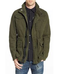 G-Star RAW | Green 'falco' Canvas Field Jacket for Men | Lyst