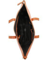 Madewell | Brown Zipper Transport Bag | Lyst