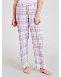 John Lewis Blue Check Pyjama Pants