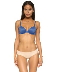 Calvin Klein | Blue Perfectly Fit T-shirt Bra - Aurora | Lyst