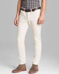 Shipley & Halmos | Jeans Bull Slim Fit in Natural for Men | Lyst