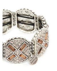 Philippe Audibert - Metallic Juline Ethnic Cross Bracelet - Lyst
