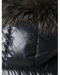 Duvetica - Black Long Padded Jacket - Lyst