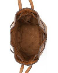Tory Burch | Brown Brody Mini Bucket Bag - Bark | Lyst