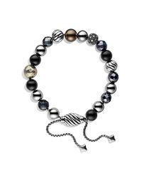 David Yurman - Metallic Spiritual Beads Bracelet - Lyst