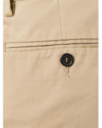 DSquared² | Natural Cropped Chino Trousers for Men | Lyst