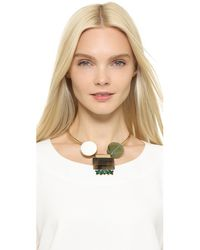 Marni | Black Resin Necklace - Coal | Lyst