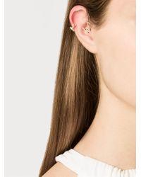 Venyx | Metallic 'miss Zeus' Diamond Ear Cuffs | Lyst