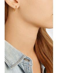 Iam By Ileana Makri - Metallic Safety Pin 10-Karat Gold Earring - Lyst