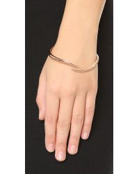 House of Harlow 1960 - Pink Arid Bangle Bracelet - Rose Gold - Lyst