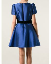P.A.R.O.S.H. Blue 'Neville' Dress