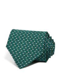 Ferragamo - Blue Elephant Classic Tie for Men - Lyst