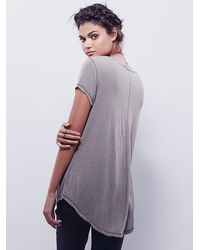 Free People | Gray We The Free Phoenix Tee | Lyst
