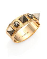 Kelly Wearstler Metallic Giza Pyrite Cuff Bracelet
