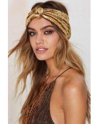 Nasty Gal - Eugenia Kim Chiara Metallic Headband - Lyst
