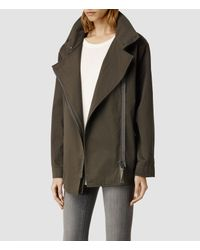 AllSaints - Natural Lance Jacket - Lyst