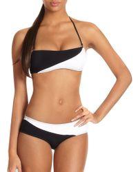 Araks - Black Eli Bandeau Bikini Top - Lyst