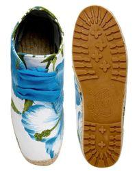 F-Troupe - White Commando Hawaii Chukka Espadrille Flat Boots - Lyst
