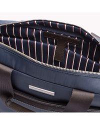 Tommy Hilfiger Blue Olivier Briefcase for men
