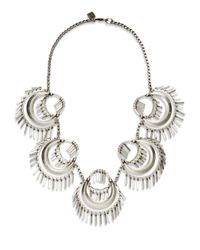 DANNIJO | Metallic Kassidy Necklace | Lyst