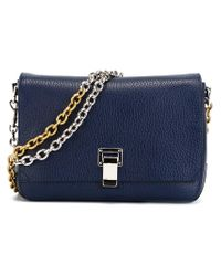 Proenza Schouler - Blue Medium 'courier' Shoulder Bag - Lyst