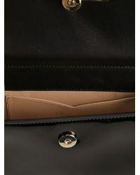 Roger Vivier - Black Miss Viv' Mini Shoulder Bag In Leather - Lyst