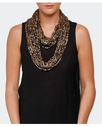 Jianhui - Gray Ten Strand Multiway Necklace - Lyst