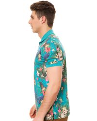 LRG - Multicolor The Hawaiian Safari Ss Polo for Men - Lyst