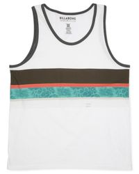 Billabong | White Wind Up Tank for Men | Lyst