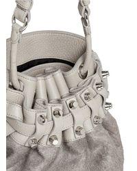 Alexander Wang   Gray 'diego' Bucket Crossbody Bag   Lyst